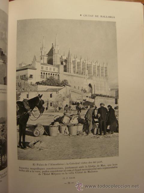 Libros antiguos: ALBUM MERAVELLA VOLUMEN VI AÑO 1936, MALLORCA (CROMOS) - Foto 5 - 26847295