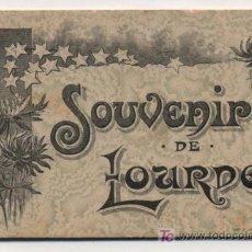 Libros antiguos: SOUVENIRS DE LOURDES.LIBRITO (7X11) CON 10 VISTAS(DIBUJOS) DE LURDES.GRAND HOTEL DE LA CHAPELLE.189?. Lote 18416998