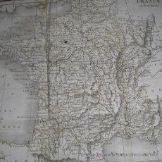 """Libros antiguos: """"BEAUTÉS ET MERVEILLES DE LA NATURE EN FRANCE"""" (2 TOMOS) DE DEPPING, 1830. CONTIENE 1 MAPA Y 6 GRABA. Lote 18612062"""