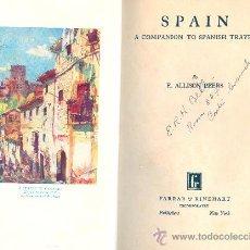 Libros antiguos: E. ALLISON PEERS. SPAIN. A COMPANION TO SPANISH TRAVEL. NEW YORK, 1930. (VIAJES POR ESPAÑA). Lote 18936576
