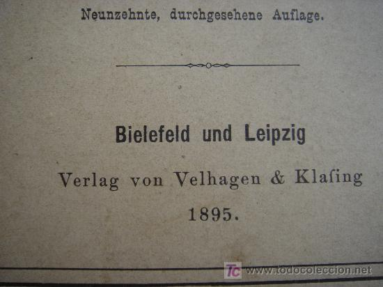 Libros antiguos: ATLAS UNIVERSAL ESCOLAR, 1895, SCHMIDT, ATLAS CON 32 MAPAS COLOREADOS - Foto 4 - 26969840