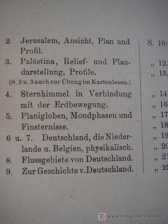 Libros antiguos: ATLAS UNIVERSAL ESCOLAR, 1895, SCHMIDT, ATLAS CON 32 MAPAS COLOREADOS - Foto 6 - 26969840