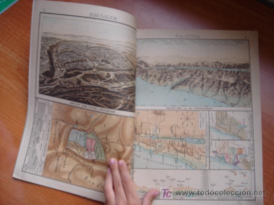 Libros antiguos: ATLAS UNIVERSAL ESCOLAR, 1895, SCHMIDT, ATLAS CON 32 MAPAS COLOREADOS - Foto 9 - 26969840
