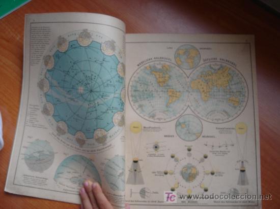 Libros antiguos: ATLAS UNIVERSAL ESCOLAR, 1895, SCHMIDT, ATLAS CON 32 MAPAS COLOREADOS - Foto 10 - 26969840