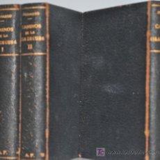 Libros antiguos: 1865.- LOS CAMINOS DE LA ISLA DE CUBA. ESTEBAN PICHARDO. 3 TOMOS. OBRA COMPLETA. NINGUN EJEMPLAR BNE. Lote 27548607