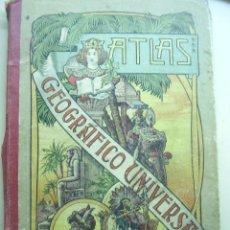 Libros antiguos: ANTIGUO ATLAS GEOGRAFICO UNIVERSAL - PALUCIE 1913 . COMPUESTO DE 22 MAPAS - JOSE PALUZIE Y LUCENA .. Lote 26576460