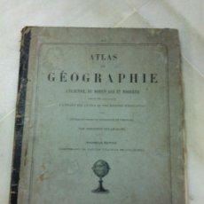 Libros antiguos: ATLAS DE GEOGRAFIA FRANCES AÑO 1879.. Lote 27434622