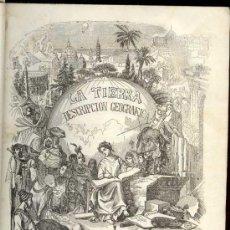 Libros antiguos: 1849: ATLAS - LA TIERRA. DESCRIPCIÓN GEOGRÁFICA Y PINTORESCA DE LAS CINCO PARTES DEL MUNDO. Lote 81573072