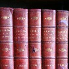 Libros antiguos: MÉXICO A TRAVÉS DE LOS SIGLOS. HISTORIA GENERAL Y COMPLETA DEL DESENVOLVIMIENTO SOCIAL, POLÍTICO,.... Lote 24270126