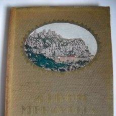 Libros antiguos: ALBUM MERAVELLA - VOLUM I - COMARQUES INTERIOR DE CATALUNYA. Lote 26837375