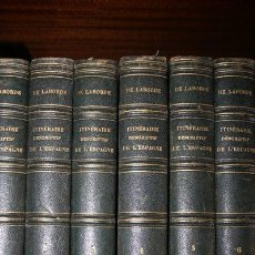 Libros antiguos: ITINÉRAIRE DESCRIPTIF DE L'ESPAGNE. LABORDE (M. LE COMTE AL. DE). Lote 24615631