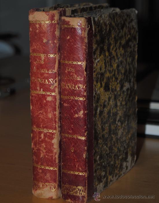 1872.- LOS ESPAÑOLES DE OGAÑO: COLECCIÓN DE TIPOS DE COSTUMBRES DIBUJADOS A PLUMA. COSTUMBRES (Libros Antiguos, Raros y Curiosos - Geografía y Viajes)