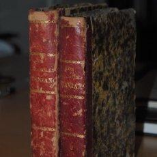 Libros antiguos: 1872.- LOS ESPAÑOLES DE OGAÑO: COLECCIÓN DE TIPOS DE COSTUMBRES DIBUJADOS A PLUMA. COSTUMBRES . Lote 26432206