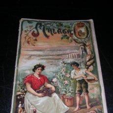 Libros antiguos: MALAGA - LA PROVINCIA DE MALAGA, GEOGRAFIA POPULAR ESPAÑOLA, ILUSTRADO, BARCELONA 1907. Lote 24977974