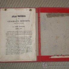 Libros antiguos: EXCEPCIONAL ATLAS DE GEOGRAFIA E HISTORIA. JOSE REINOSO. 1877 GRAN CANTIDAD DE LAMINAS. Lote 27250732