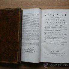 Libros antiguos: VOYAGE DU CI-DEVANT ... CHATELET (DUC DE). Lote 25943955