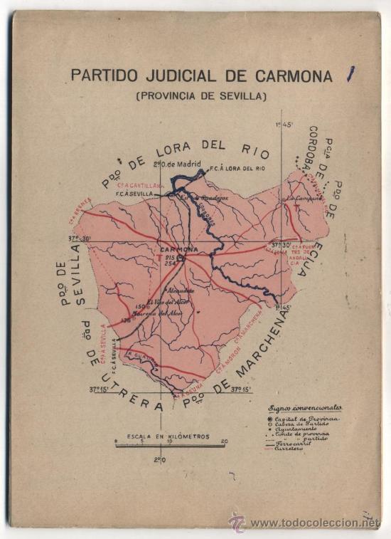 PORTFOLIO FOTOGRÁFICO DE ANDALUCIA Nº N/V. CARMONA. 40 PÁGINAS CON 16 FOTOGRAFÍAS. (Libros Antiguos, Raros y Curiosos - Geografía y Viajes)