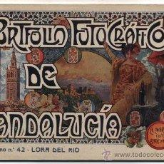 Livres anciens: PORTFOLIO FOTOGRÁFICO DE ANDALUCIA Nº 42. LORA DEL RÍO. 40 PÁGINAS CON 16 FOTOGRAFÍAS.. Lote 27007531