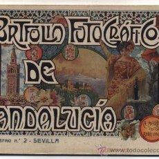Libros antiguos: PORTFOLIO FOTOGRÁFICO DE ANDALUCIA Nº 2. SEVILLA. 40 PÁGINAS CON 16 FOTOGRAFÍAS.. Lote 27029825