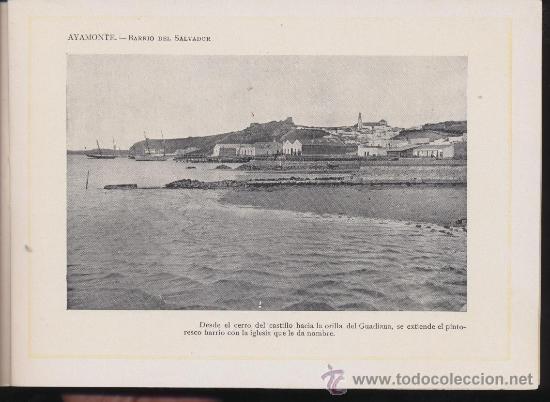 Libros antiguos: Portfolio Fotográfico de Andalucia nº 17. Ayamonte. 40 páginas con 16 fotografías. - Foto 2 - 27006582