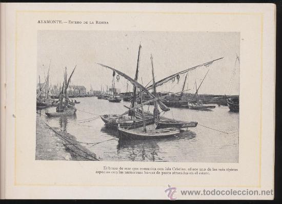 Libros antiguos: Portfolio Fotográfico de Andalucia nº 17. Ayamonte. 40 páginas con 16 fotografías. - Foto 3 - 27006582
