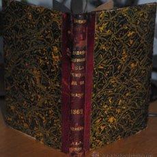 Libros antiguos: 1862.- CALENDARIO DE LA PUERTA DEL SOL PARA 1862 ARREGLADO POR DON PIO RAMÓN RICO. Lote 27780529
