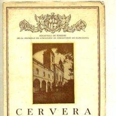 Libros antiguos: CERVERA (1935). Lote 28076373