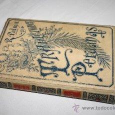 Libros antiguos: 0403- CURIOSO LIBRO ' TRADICIONES PERUANAS' POR RICARDO PALMA, 1893, TOMO I. Lote 28336900