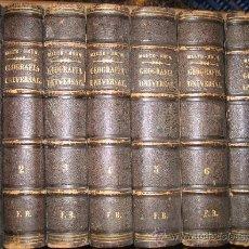 Libros antiguos: MALTE BRUN : GEOGRAFÍA UNIVERSAL O DESCRIPCIÓN DE TODAS LAS PARTES DEL MUNDO - 7 TOMOS (1867). Lote 28450473