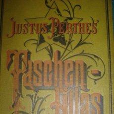 Libros antiguos: ATLAS GEOGRÁFICO UNIVERSAL, 1889, TASCHEN - ATLAS, INCLUYE 24 MAPAS COLOREADOS Y GRABADOS COBRE. Lote 28995063