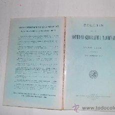 Libros antiguos: BOLETÍN DE LA SOCIEDAD GEOGRÁFICA NACIONAL. TOMO LXXIII. NÚMERO 12. DICIEMBRE DE 1933 RM30964. Lote 29217427