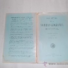 Libros antiguos: BOLETÍN DE LA REAL SOCIEDAD GEOGRÁFICA NACIONAL. TOMO LXXVI. NÚMERO 1. ENERO DE 1936. RM31204. Lote 29224927