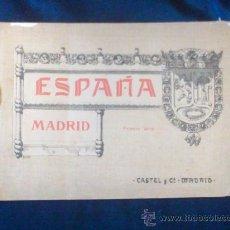 Libros antiguos: PRECIOSA COLECCION LAMINAS COLOR MADRID C. 1910. Lote 29385736