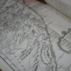 Libros antiguos: HISTOIRE GÉNÉRALE DES VOYAGES (VOL.54), PRÉVOST, 1758. CONTIENE 9 GRABADOS. Lote 29491718