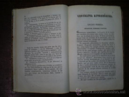 Libros antiguos: Lecciones de Geografía Obra de texto en los Colegio Militares Infantería y Caballería 1861 RM54986-V - Foto 4 - 29547491