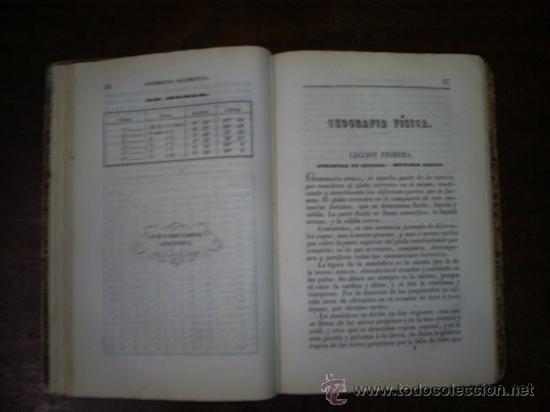 Libros antiguos: Lecciones de Geografía Obra de texto en los Colegio Militares Infantería y Caballería 1861 RM54986-V - Foto 5 - 29547491