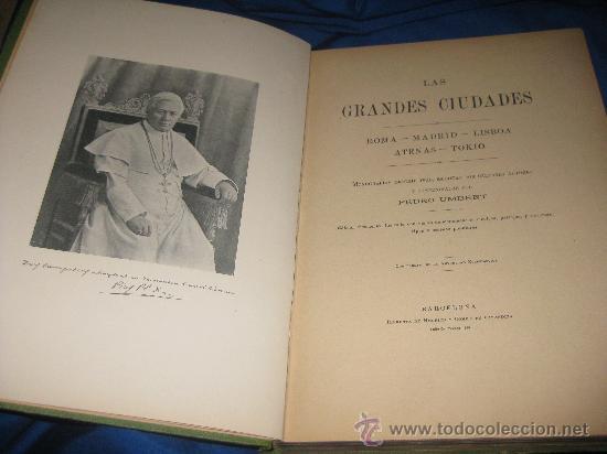 LAS GRANDES CIUDADES (Libros Antiguos, Raros y Curiosos - Geografía y Viajes)