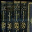 Libros antiguos: LAS MARAVILLAS DEL MUNDO Y DEL HOMBRE - 4 TOMOS, HACIA 1920.. Lote 49399186