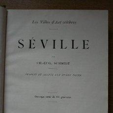 Libros antiguos: LES VILLES D'ART CÉLÈBRES. CORDOUE & GRENADE. TRADUIT ET ADAPTÉ PAR HENRY PEYRE. SCHMIDT (CH.-EUG.). Lote 29673138