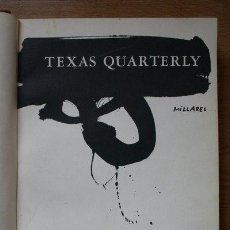 Libros antiguos: THE TEXAS QUARTERLY. IMAGE OF SPAIN. A SPECIAL ISSUE EDITED BY RAMÓN MARTÍNEZ-LÓPEZ. . Lote 29673431