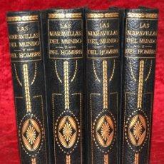 Libros antiguos: 4 TOMOS. MARAVILLAS DEL MUNDO. AÑOS 20S. EUROPA, AMERICA, ASIA, OCEANIA Y AFRICA.. Lote 29976425