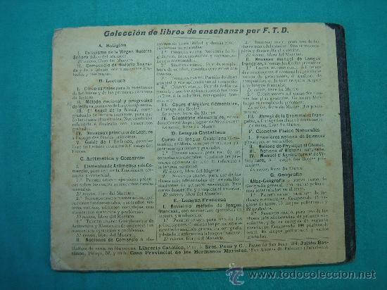 Libros antiguos: Atlas Geografia 3ª ed 1º grado Libreria catolica 1904 - Foto 3 - 30235291