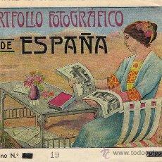 Libros antiguos: PORTFOLIO FOTOGRÁFICO DE ESPAÑA. CUADERNO Nº 19, SEGOVIA. Lote 30439780