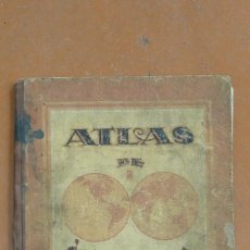 Libros antiguos: ATLAS DE GEOGRAFIA MODERNA, CON ASTRONOMIA. FINALES S.XIX.. Lote 30733477