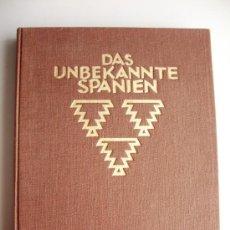Libros antiguos: 1925-TREMENDO LIBRO CON 304 FOTOS ANTIGUAS DE ESPAÑA.KURT HIELSCHER. GRANDES 23X15 CM.. Lote 30859452