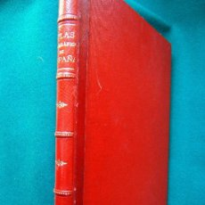 Libros antiguos: ATLAS GEOGRAFICO IBERO AMERICANO. ESPAÑA - 52 PRECIOSOS MAPAS 38X55 CM - BENITO CHIAS - 1903 ? - . Lote 30906936