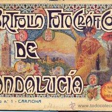 Libros antiguos: PORTFOLIO FOTOGRAFICO DE ANDALUCIA Nº 1 CARMONA . Lote 30984519