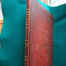 Libros antiguos: ATLAS USUEL DE GEOGRAPHIE MODERNE-DESBUISSONS-COMPLETO 32 MAPAS COLOR-ACERO-70X53 CM-1881 ?-RARISIMO. Lote 30985659