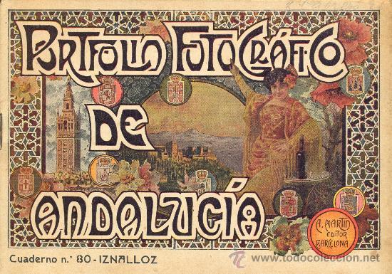 PORTFOLIO FOTOGRAFICO DE ANDALUCIA Nº 80 IZNALLOZ (Libros Antiguos, Raros y Curiosos - Geografía y Viajes)