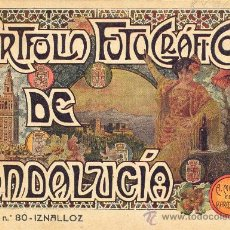 Libros antiguos: PORTFOLIO FOTOGRAFICO DE ANDALUCIA Nº 80 IZNALLOZ. Lote 30994524
